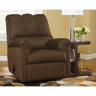 Darcy Cafe Brown Rocker Recliner