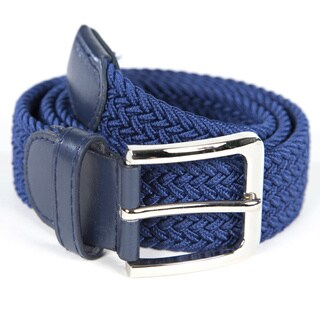 Men's Woven Nylon Stretch Belt
