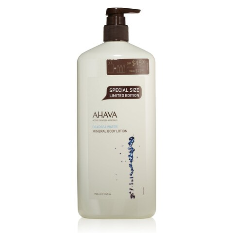 Ahava Deadsea Water Mineral 24-ounce Limited Edition Body Lotion