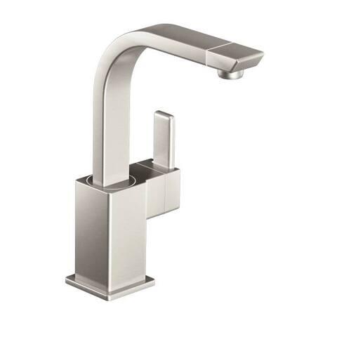 Moen 90 Degree Spot Resist Stainless One-Handle Bar Faucet, Spot Resist Stainless (S5170SRS)