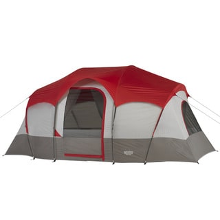 Wenzel Blue Ridge 7-person 2-room Tent  sc 1 st  Overstock.com & Coleman Weathermaster 10 Person Hinged Door Tent - Free Shipping ...