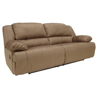 Signature Design by Ashley Hogan Mocha Two-seat Reclining Sofa