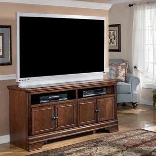 Signature Designs by Ashley Hamlyn Dark Brown Large TV Stand