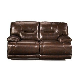 Signature Designs by Ashley 'Exhilaration' Chocolate Reclining Loveseat