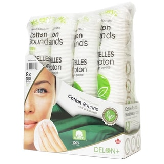 Delon Cotton Pads (Pack of 8)
