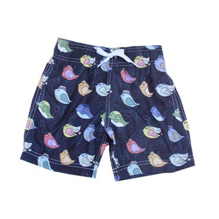 Azul Swimwear Boys 'Birds' Multicolored Swim Shorts