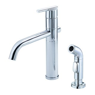 Danze Single-handle Kit Parma Lever Handle with Spray Polished Chrome Faucet