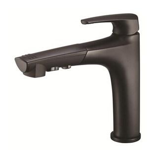 Danze Single-handle KitTaju Pull-out Spout Black Satin Faucet