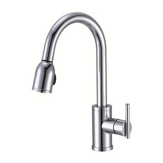 Danze Single-handle Kit Parma Pull-down Side Mount Handle Polished Chrome Faucet
