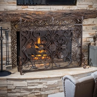 Link to Christopher Knight Home Wilmington Fireplace Screen Similar Items in Decorative Accessories