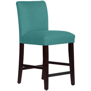 Skyline Furniture Uptown Counter Stool in Linen Laguna