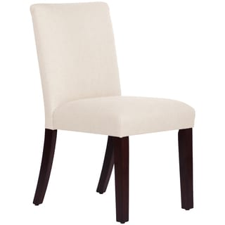 Skyline Furniture Uptown Dining Chair in Linen Talc