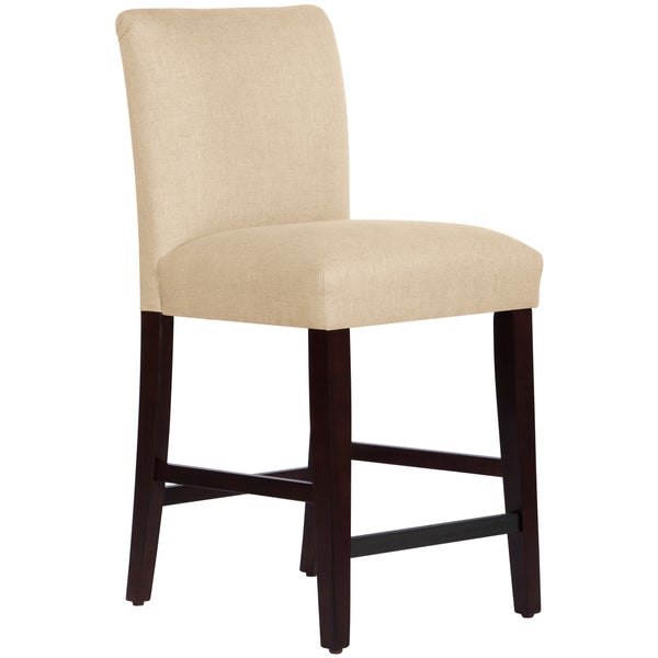 Shop Skyline Furniture Uptown Counter Stool In Linen