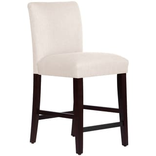 Skyline Furniture Counter Stool in Linen Talc