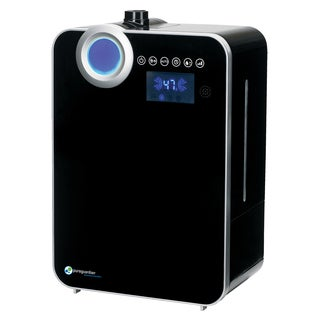 PureGuardian H8000B 120-hour Elite Smart Mist Digital Ultrasonic Humidifier with Extendable Wand