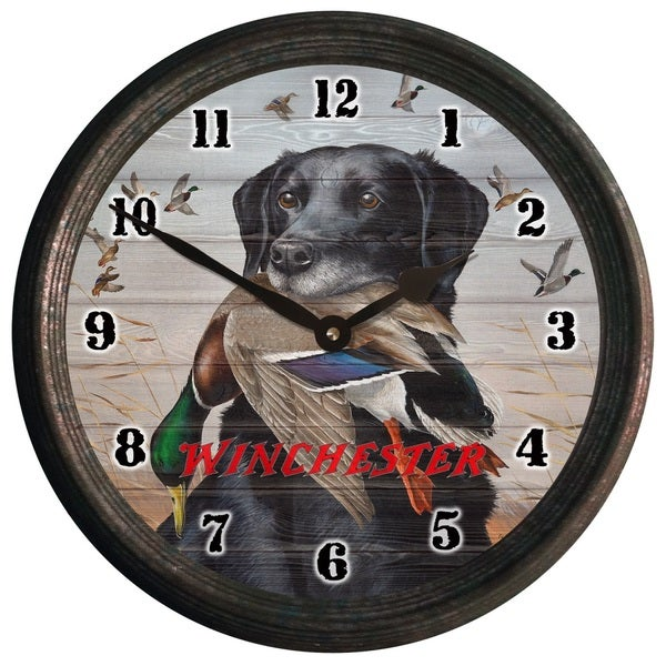 Winchester King Buck Wall Clock