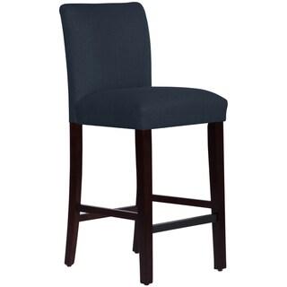 Skyline Furniture Bar stool in Linen Navy