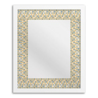 Gallery Direct Multi-colored Chevron Mirror Art