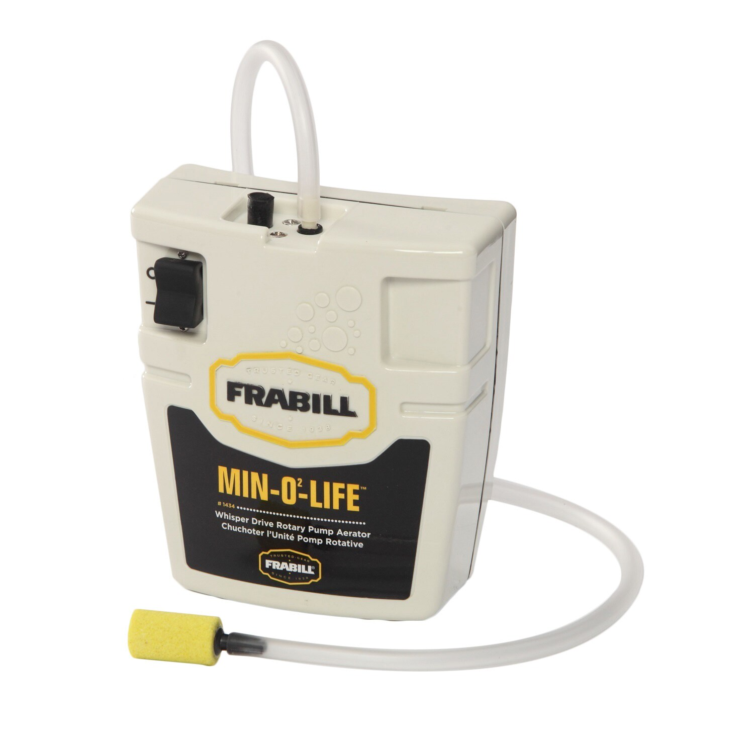 Frabill Whisper Quiet Portable Aeration System (White) (P...