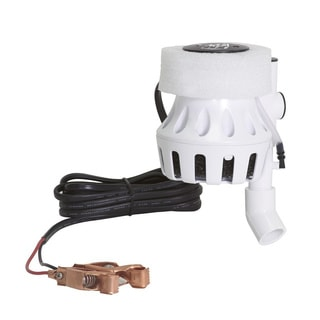 Frabill 30-gallon Floating Pump System 12 Volt DC