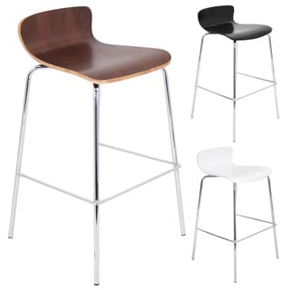 Wood Stacker Contemporary Stackable Barstool (Set of 2)