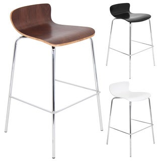 Oliver & James Isek Contemporary Stackable Barstool (Set of 2)