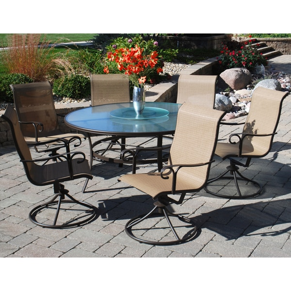 Cheap Dinette Sets Free Shipping: Shop Sun Casual Cameron 7-piece Dining Set
