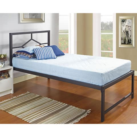 Black Metal Twin-size Daybed