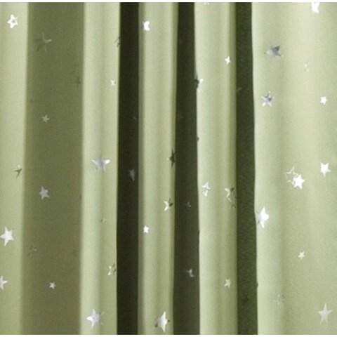 Lush Decor Star Room Darkening Window 84-inch Curtain Panel Pair - 52x84