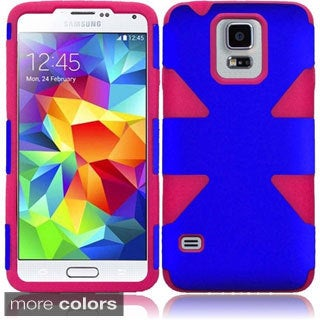 INSTEN Colorful Dynamic Slim Hybrid Phone Cover Case For Samsung Galaxy S5