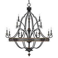 Capital Lighting Wyatt Collection 16-light Painted Surry Chandelier Light