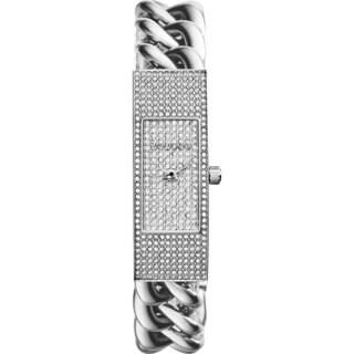 Michael Kors Women's MK3305 'Hayden' Silvertone Glitz Watch