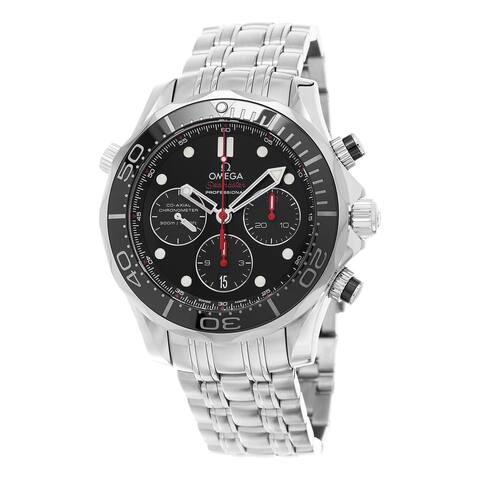 Omega Men's Seamaster Stainless Steel Watch