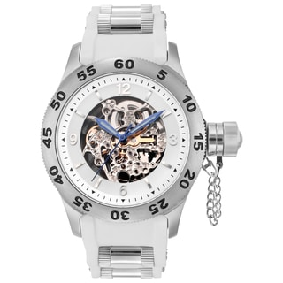 Rougois Men's Automatic Skeleton Naval Diver Watch