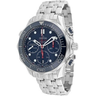 Omega Men's O21230425003001 Seamaster Stainless Steel Watch