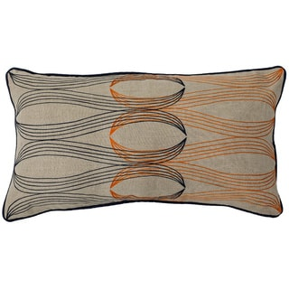 Kosas Home Color Interlock 14x26-inch Feather-filled Throw Pillow