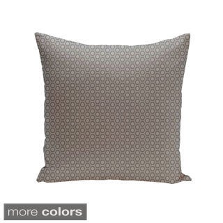 Square 18-inch Small Hexagon Geometric Decorative Throw Pillow