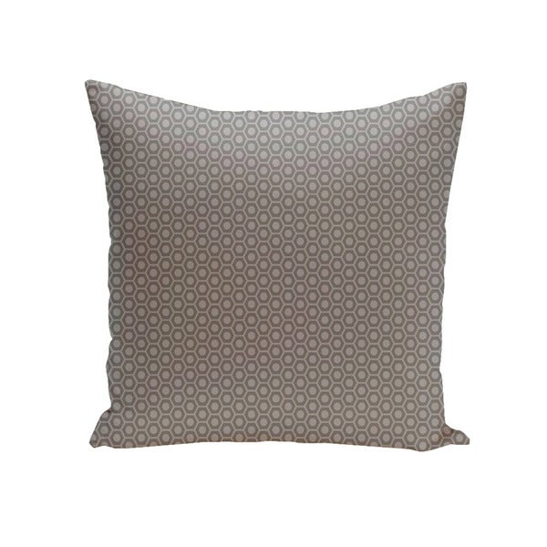 Shop Square 40inch Small Hexagon Geometric Decorative Throw Pillow Enchanting Small Decorative Throw Pillows