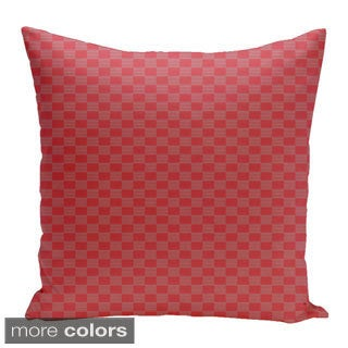 Square 18-inch Geometric Decorative Throw Pillow