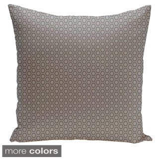 Square 26-inch Geometric Decorative Throw Pillow