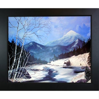 Peggy Miller Whiteface from Route 87 Framed Fine Art Print