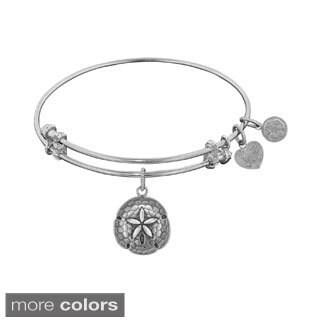 Angelica Sand Dollar Charm Bangle Bracelet