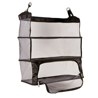 Travelon Black Deluxe Packable Shelves