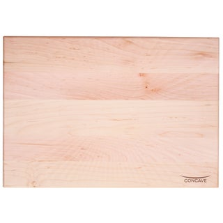 J.K. Adams 20-Inch by 14-Inch Concave Carve and Serve Maple Cutting Board