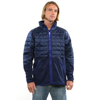 Patagonia Men's Classic Navy Hybrid Down Jacket