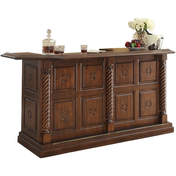 Whitaker Furniture Ashton Oak Wine Bar Free Shipping Today 16761576