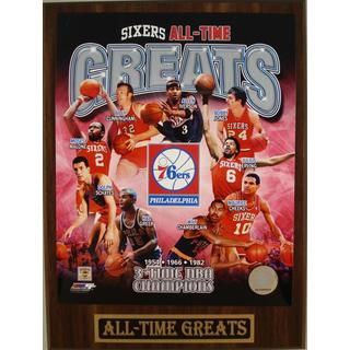 Philadelphia 76ers All Time Greats Plaque