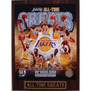 Los Angeles Lakers All Time Greats Plaque