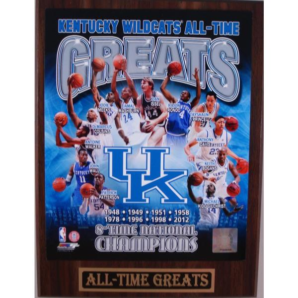 Kentucky Wildcats All Time Greats Plaque