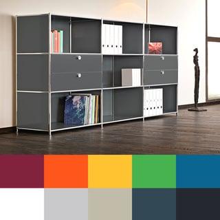 System4 Prestigious Elite Steel Side Board/ TV Media Stand/ Office Filing Credenza